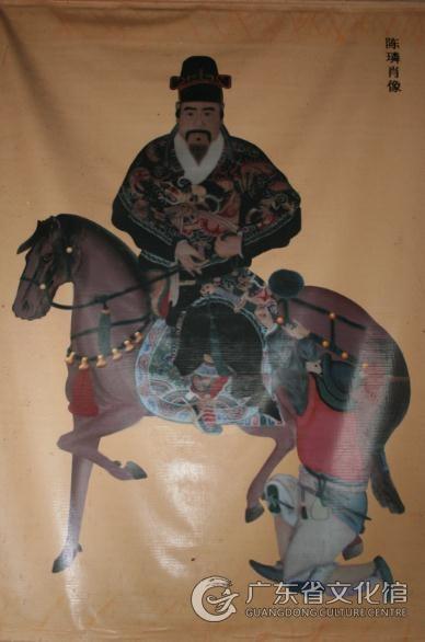 陈璘传说起源于明代中后期,故事原型是明代岭南军事将领陈璘