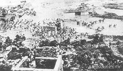 1900年7月1日,清军、义和团与八国联军天津激战
